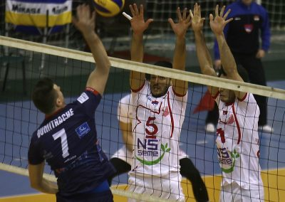 Šesnaestina finala CEV kupa, Vojvodina NS seme - Arkada
