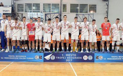 Kadeti Novog Sada osvojili Trofej Beograda
