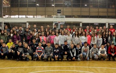 Crveno-beli se družili sa decom sa Kosova