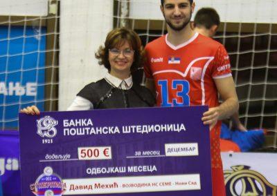Najbolji igrač decembra David Mehić