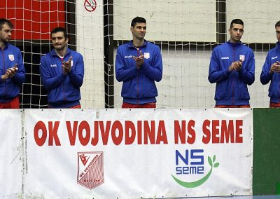 Šesnaesto kolo Superlige: Vojvodina NS seme - Novi Pazar