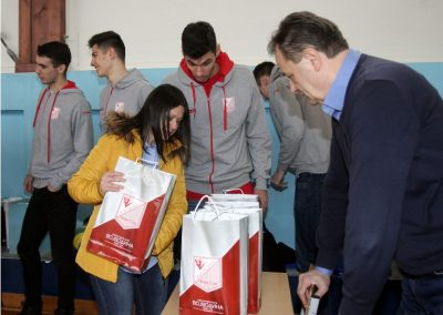 """Poseta Osnovnoj školi """"Marija Trandafil"""" u Veterniku"""