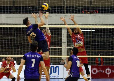 Prva utakmica četvrtfinala plej-ofa: Vojvodina - Spartak Ljig