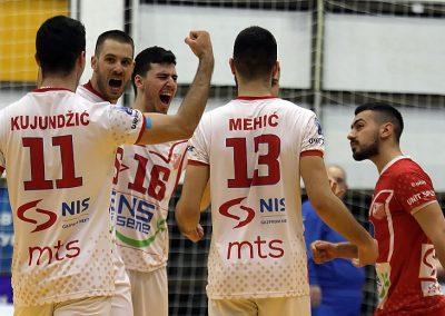 Prva utakmica polufinala plej-ofa: Vojvodina NS seme - Crvena zvezda