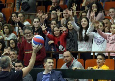 Druga utakmica polufinala plej-ofa: Vojvodina NS seme - Crvena zvezda