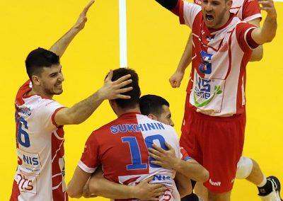 Finale plej-ofa, prva utakmica: Vojvodina NS seme - Novi Pazar