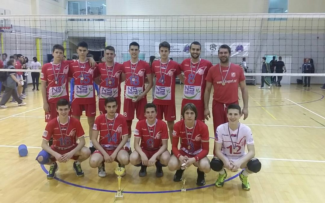 Kadeti prvaci Vojvodine