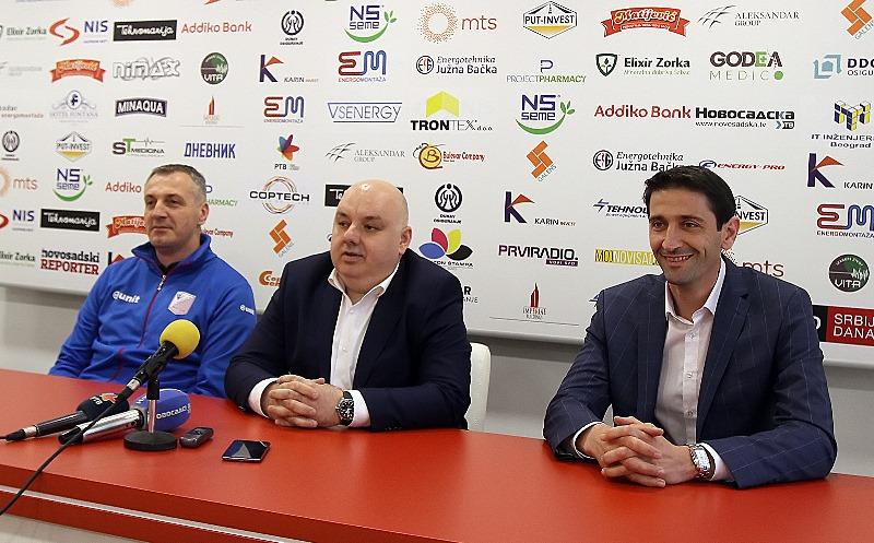 Vojvodina predstavila Duška Nikolića, novog šefa stručnog štaba