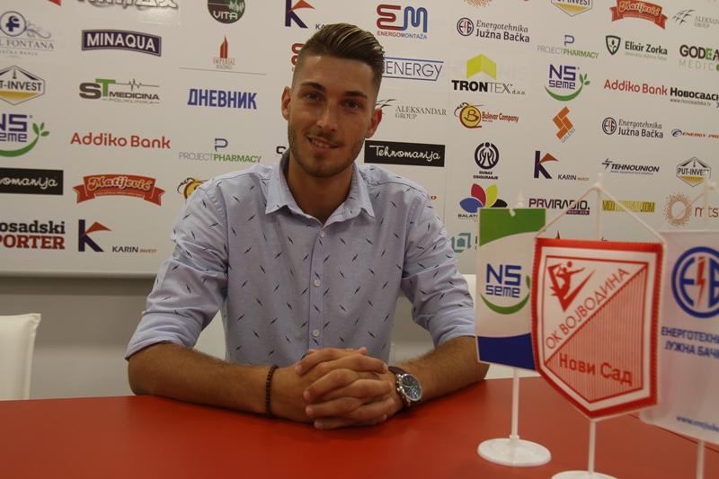 Stefan Kovačević ponovo u Vojvodini