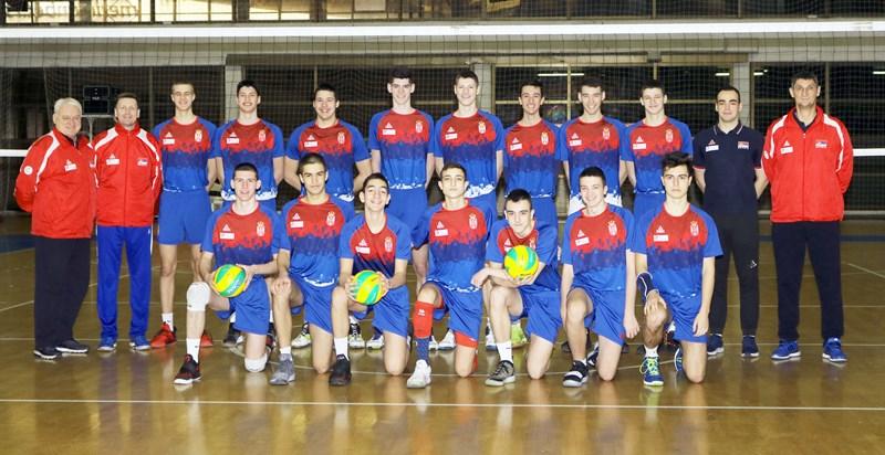 Pionirska reprezentacija trenirala u Novom Sadu