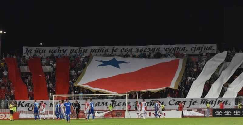Podrška fudbalerima Vojvodine