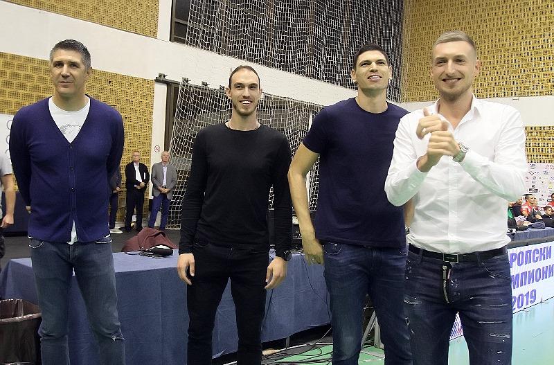 Ovacije za prvake Evrope!