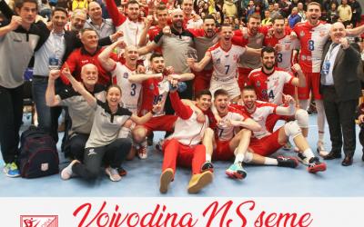 Vojvodina NS seme šampion Srbije za sezonu  2019/2020.