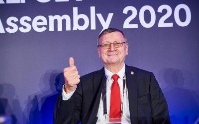 Aleksandar Boričić predsednik CEV do 2024.