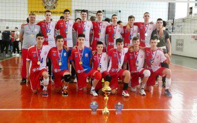 Pioniri Vojvodine NS seme šampioni Srbije
