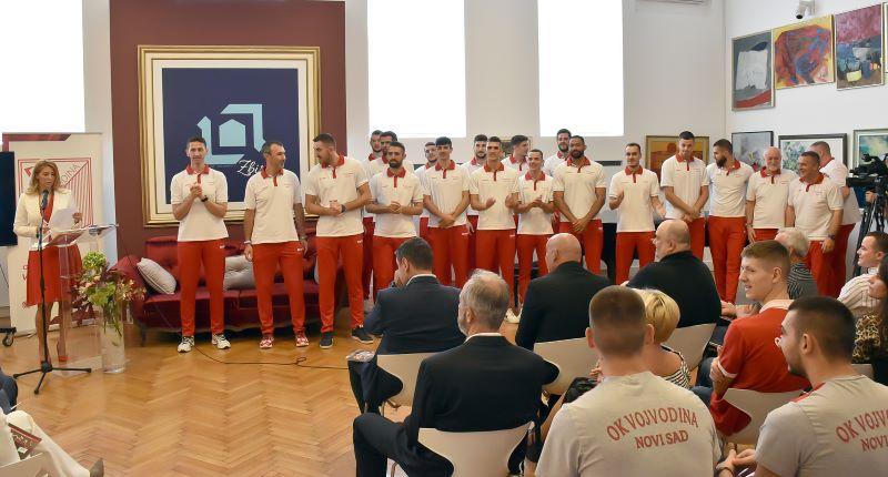 Vojvodina predstavila tim za novu sezonu u Galeriji Matice srpske